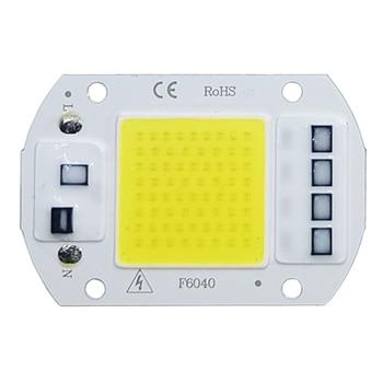 COB LED Lamp Chip AC 220V LED Bulb 10W 20W 30W 50W IP65 High Power Smart IC DIY Flood light Bulb Spotlight Outdoor Chip Lamp цена 2017