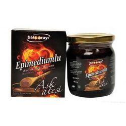 Balsarayi Afrodisiacum Epimedium Turkse Honing Mix (Horny Goat Weed Aphrosisiacs)-Turkse Plakken, 230gr, % 100 Halal