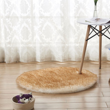 Plush Carpets Bedroom Mat Seat Fur Area Rugs Faux Fur Wool Round Rugs Carpets Soft Living Room Sofa Carpet Warm Hairy Carpet learning carpets us map carpet lc 201