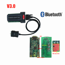 купить Best quality V3.0 Green pcb 2015.3 keygen Car-detector with/without bluetooth VD TCS CDP for cars and trucks diagnostic tool дешево