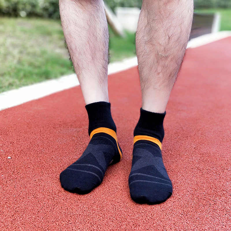남자 압축 양말 남자 메리노 양모 발목면 양말 Herren Socken 농구 스포츠 압축 양말 남자 EU 40-44