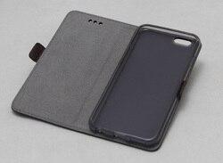 Prawdziwej skóry dla iphone 5s 5 etui z klapką przypadku wysokiej jakości telefon etui na iphone'a SE 5s z krzemu z powrotem