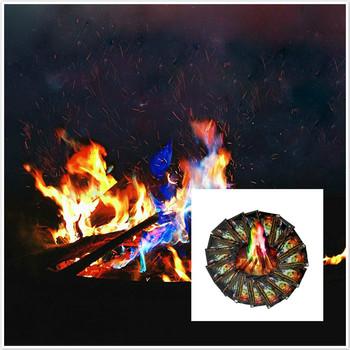 1 sztuk magiczne rekwizyty magiczne sztuczki mistyczne ogień kolorowe płomienie ogniste saszetki Pit Patio zabawki profesjonalne magów pirotechniki tanie i dobre opinie Unisex Pływające Miga Brzmiące Rośnie Zniknięcie Dowiedz się Z dvd Łatwe do zrobienia Beginner Ulica Etap 2-4 lat