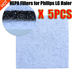Replacement Vacuum Cleaner HEPA Filters for Philips LG Haier Midea Electrolux Motor Cotton Filter Wind Air Inlet Outlet Filter(China)