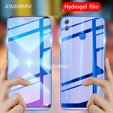 XINDIMAN front+back hydrogel film for huawei honor8 honor8X soft screen protector honor8XMAX honor8lite honor8C Film