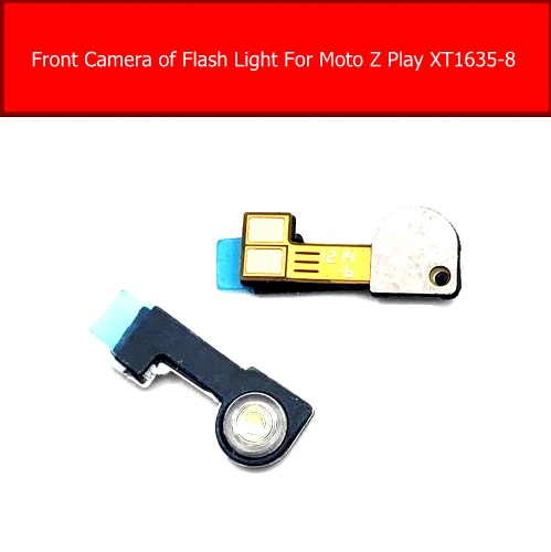 Camera Of Flash Light Flex Cable For Motorola Moto Z Play XT1635-8 Front Rear Main Camera With Proximity Sensor Flex Ribbon