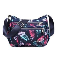 handbag female womens satchel Nylon waterproof nylon crossbody big messenger woman tote shoulder bag for women