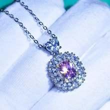 Роскошное ожерелье принцессы с розовыми кристаллами циркония