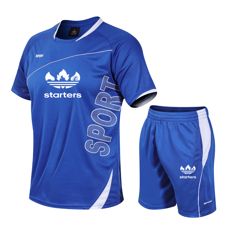 2Pcs/Set Men's Tracksuit Gym Fitness Compression Sports Suit Clothes Running Jogging Sport Wear Exercise Workout Training Shorts