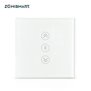 [Rétro-éclairage en option] zemimart WiFi commutateur de rideau électrique intelligent rouleau...