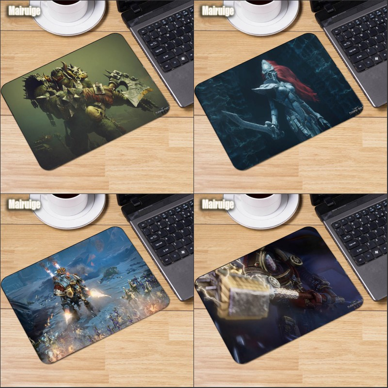 Mairuige War Hammer 40K Science Fiction Game Mousepad Game Rts Gaming Mousepads Computer Pc Mat Notebook Mouse Pad image