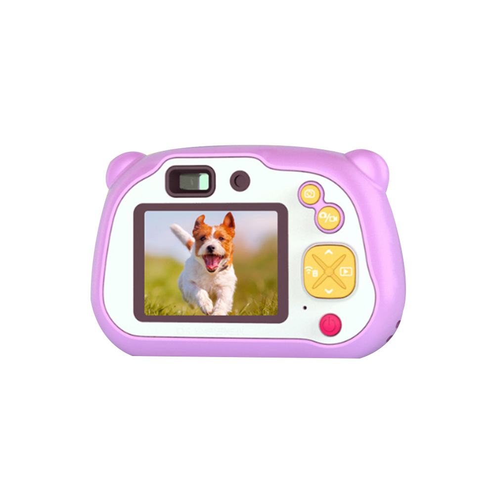 20 Million Pixel Self-Timer Battery Powered WIFI Take Pictures Mini Fun Toy LCD Screen Clear Children Camera Accompany Digital