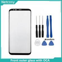 S8 S8 Plus S9 Note 8 Note 9 10 Front Outer Glass Lens Cover With OCA Glue For Samsung Galaxy S10 S10 Plus LCD glass & Tools