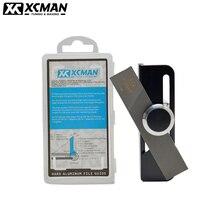 XCMAN 알파인 스키 스노우 보드 하드 알루미늄 레이싱 사이드 베벨 앵글 파일 가이드 CNC 클램프 장치 및 파일 제작