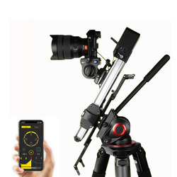 NEW ZEAPON Motorized Micro 2 Camera Slider Track Dolly Automatic Electric Motor Video Rail Slider For Canon Nikon Sony DSLR BMCC