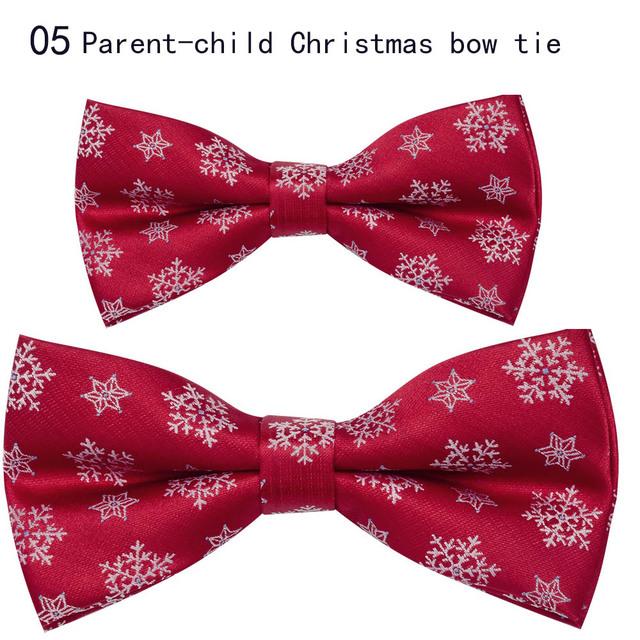Nuevo padre-hijo corbatas de Navidad