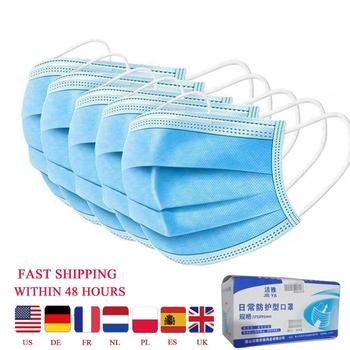5/10/20/50pcs Disposable Masks Breathable Mouth Mask Disposable Ear loop Face Masks