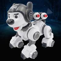 Smart Robot Dog Infrared Remote Control Kids Toys Intelligent Early Education Programmable Robot Doll