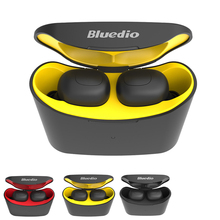 Mini Bluedio T-elf TWS Bluetooth Stereo Earphone 5.0 Sports Headset Wireless With Charging Box For Phones