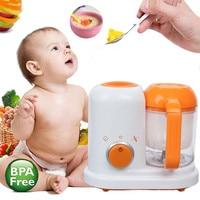 Hot Electric Baby Feeding Food Maker Toddler Blenders Steamer Processor BPA Free Food Graded PP Infant Fruit Vegetable Maker EU