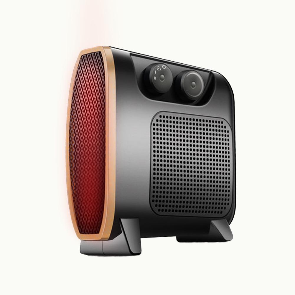 Portable Fan Heater Cool Warm Electric Fan Heater With Adjustable Thermostat For Home Office #CO