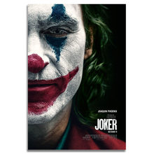Joker Movie Silk Poster Wall Art Print 12x18 20x30 inch Decoration Pictures Wallpaper Living Room Decor(China)