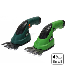 3.6V 2-in-1 Multifunctional Electric Trimmer Cordless Grass Shear Hedge Rechargeable Lawn Mower Garden Tools