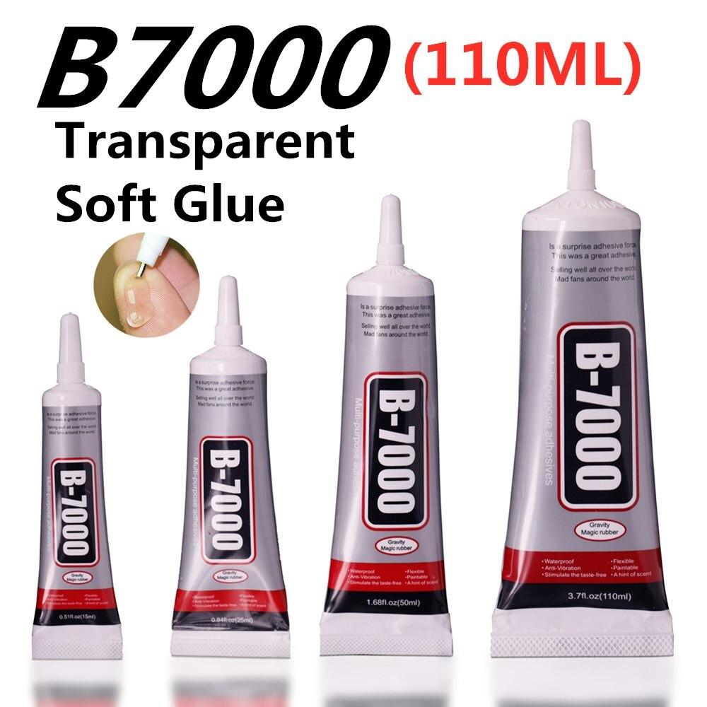 110ml B7000 Glue Mobile Phone Touch Screen Superglue B-7000 Adhesive Telephone Glass Glue Repair Point Diamond Jewelry DIY Glue