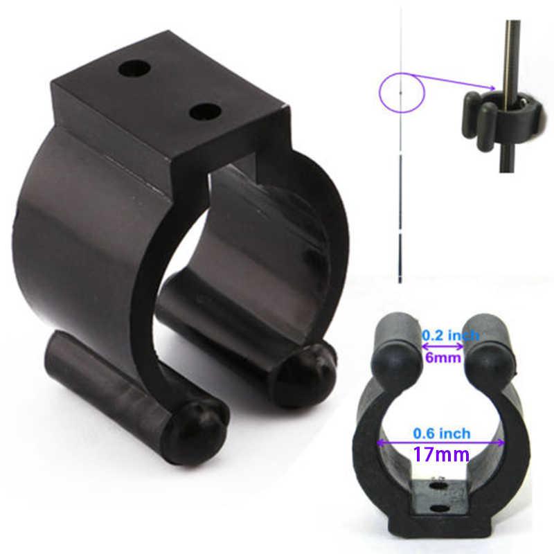 20pcs Fishing Rod Holder Plastic Pole Storage Rack Holder Tip Clamp for Fixing