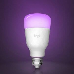 Image 2 - Yeelight لمبة ملونة E27 الذكية APP واي فاي التحكم عن بعد الذكية مصباح ليد RGB/درجة الحرارة الملونة رومانسية المصباح الكهربي