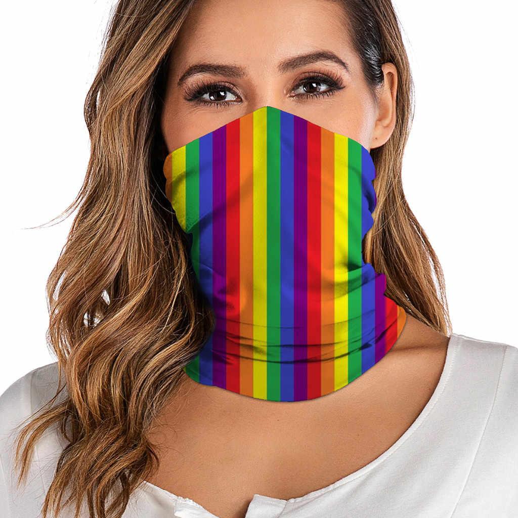 Vrouwen Tie-Dye Print Bandana Buffs Halsbeenkap Hoofdband Winddicht Fietsen Vissen Masker Sjaal Multifunctionele Outdoor Hoofddeksels