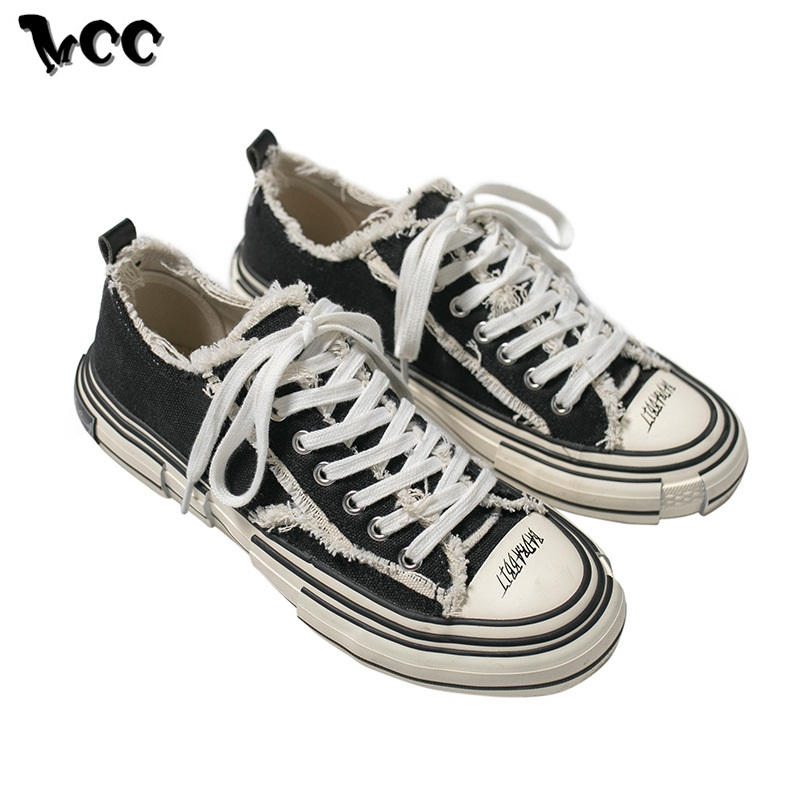 Women Mens Vintage High Top Canvas Shoes Lace Up Trainers Zipper Distress Casual