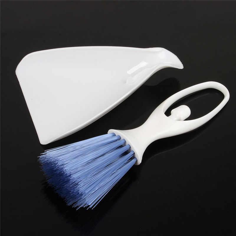 2 ב 1 שואב אבק מברשת Outlet Vent ניקוי מברשת + יעה רכב אביזרי פנים תליון מקלדת מנקה כלי קישוט