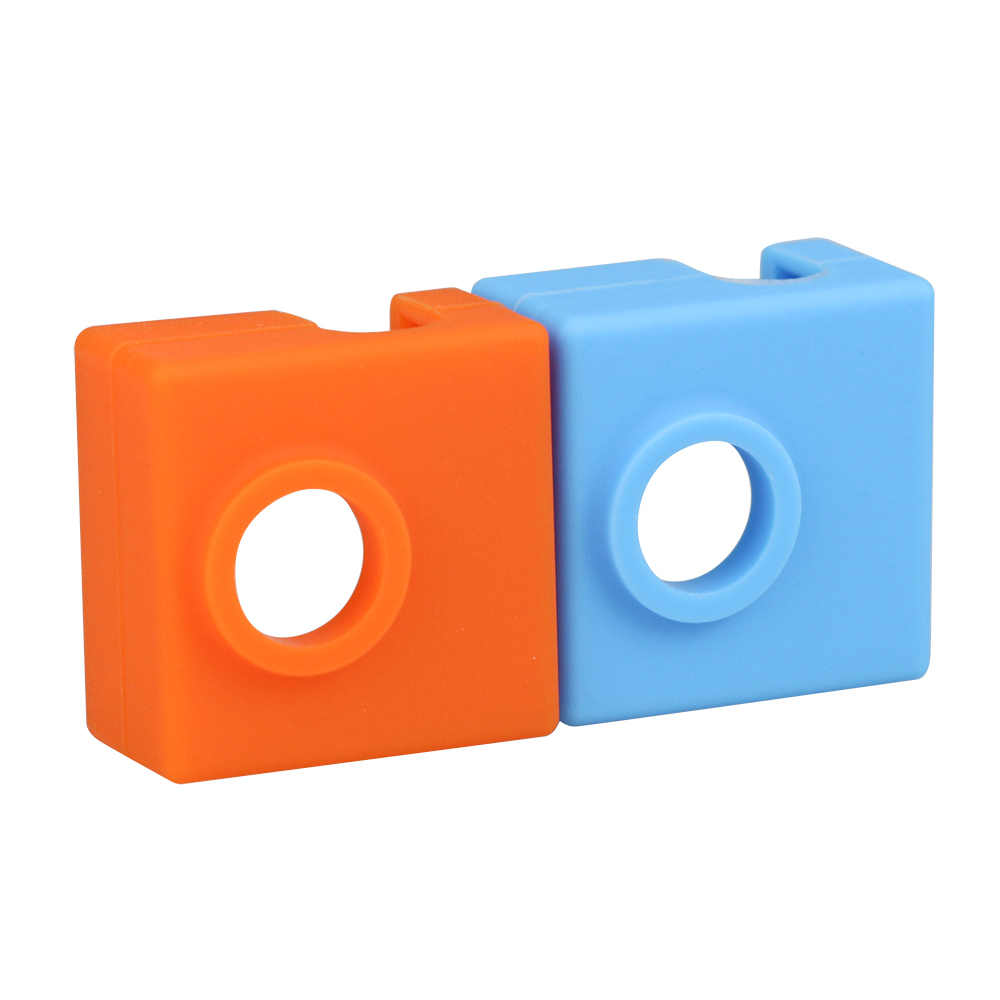 3D Printer MK9 Protective Silicone Sock Cover Case For Heater Block Of Creality CR-10,10S,S4,S5 Anet A8 MK7/MK8/MK9 Hotend