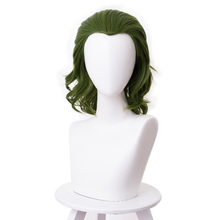 2019 Joker Movie Clown Batman Joker Hair Peluca Cosplay Joaquin Phoenix Arthur Fleck Curly Green Peruko Synthetic Hair Headgear