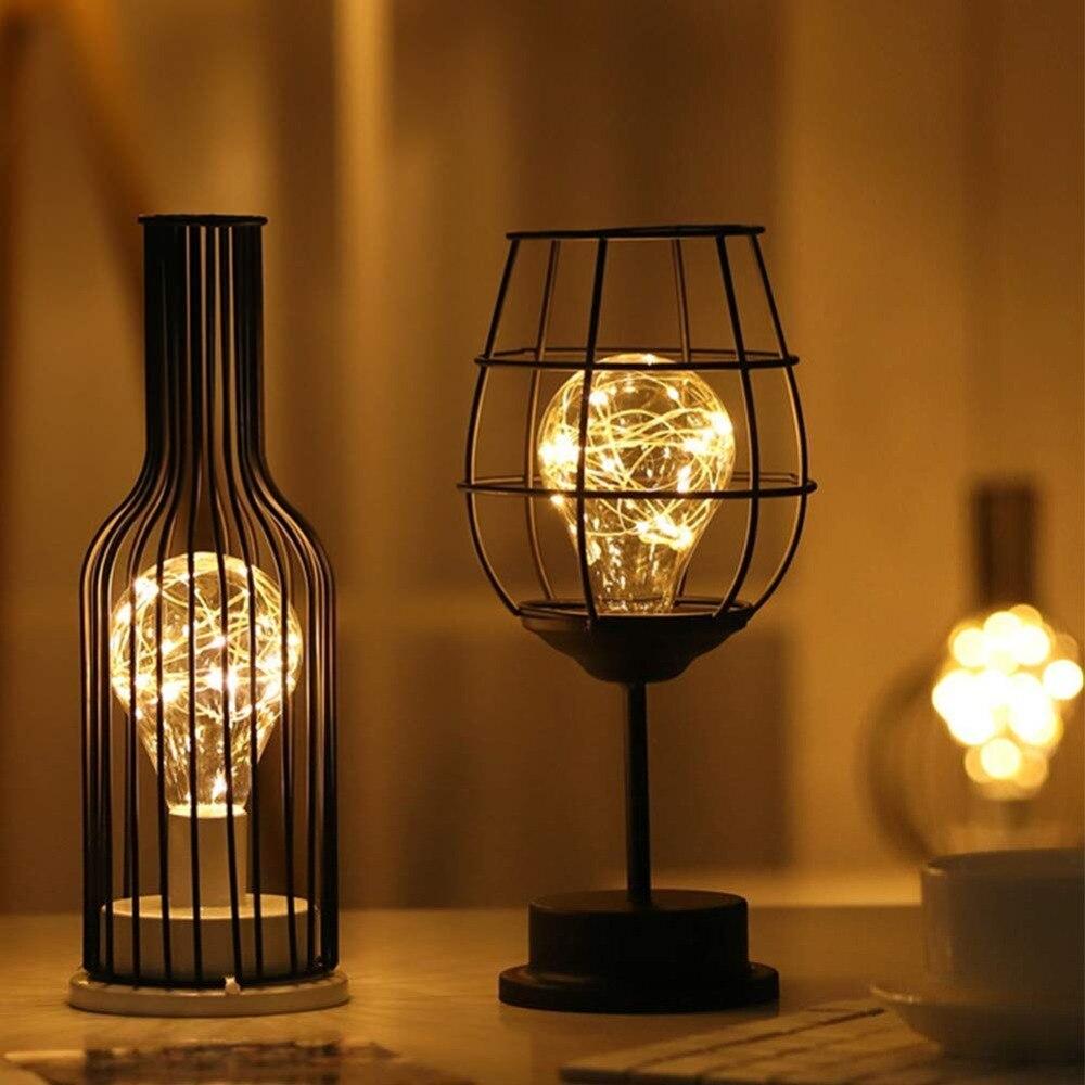 moderna de cobre estilo metal garrafa vidro