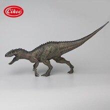 الكلاسيكية محاكاة الديناصورات اللعب إندومينوس ريكس نموذج الجوراسي الحيوان ديناصور بك عمل الشكل لعبة الهدايا