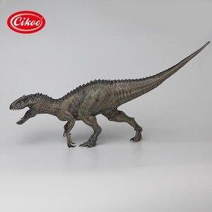 Image 1 - الكلاسيكية محاكاة الديناصورات اللعب إندومينوس ريكس نموذج الجوراسي الحيوان ديناصور بك عمل الشكل لعبة الهدايا