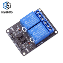 1PCS/LOT New 5V 2 Channel Relay Module Shield for Arduino AR