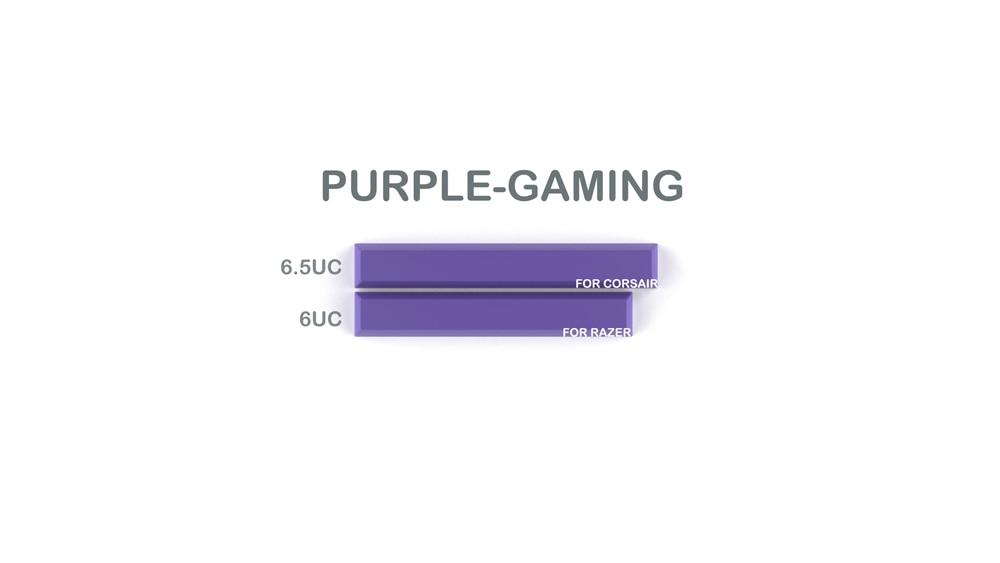 010-CYBERPUNK PUMPER Spacebar Purple Gaming