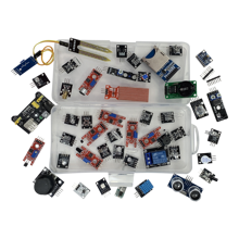 Kit de iniciación de módulos de sensores 45 en 1 para arduino, mejor que kit de sensor 37 en 1 Kit de Sensor de caja