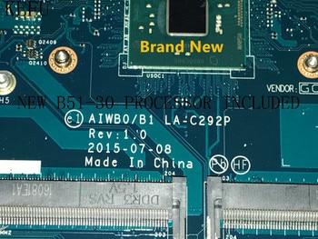 100% NEW ,AIWBO/B1 LA-C292P laptop Motherboard For LENOVO B51-30 ,WITH PROCESSOR N3050 /N3060 (no fingerprint connector )