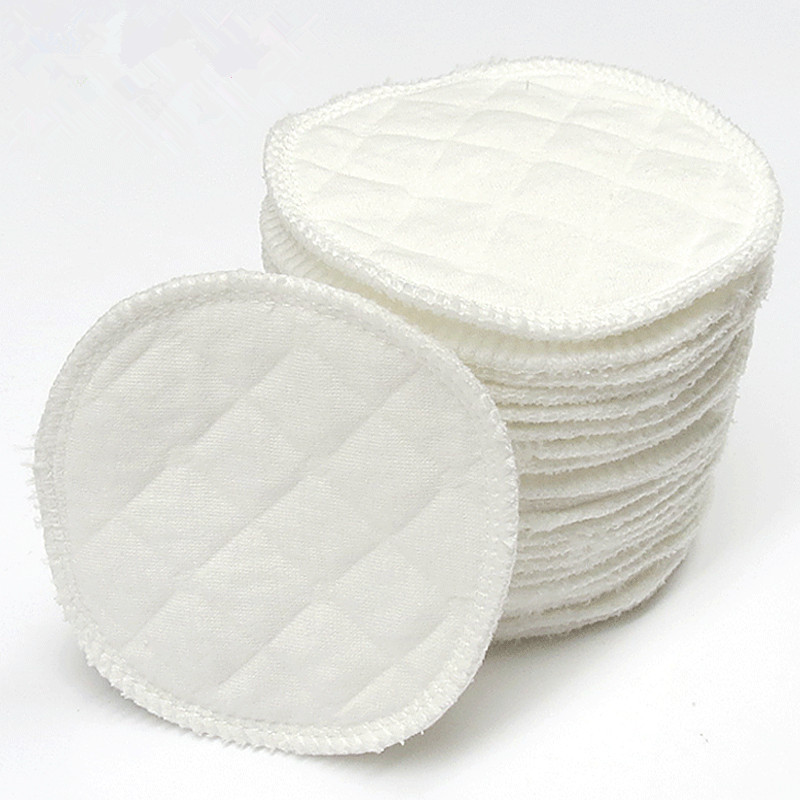 12-Piece Spill Pads Washable-Breast-nursing Pad Autumn And Winter Thick Pregnant Women Anti-spill Breast Pads Postpartum Feeding