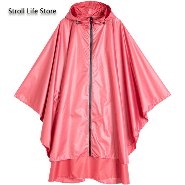 Large Size Trench Rain Coat Poncho Raincoat Women Yellow Rain Clothes Cover Travel Hiking Windproof Suit Gabardina Mujer Gift 3