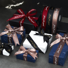 Tapes Bow-Crafts Floral-Tied-Accessories Wrapping-Flowers Card-Gifts Polyester Ribbon
