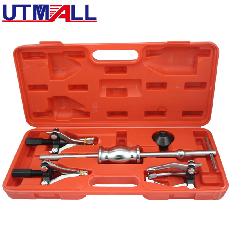 3 Jaw Internal External Bearing Puller Tool Set With Slide Hammer Bearing Removal Tool For Inner Or Outer Bearings