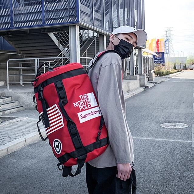 Plecak na siłownię worek marynarski na siłownię sportowy plecak dla koszykarza Sportsbag dla kobiet miłośnicy Fitness Travel Mochila Yoga torba na ramię 2020