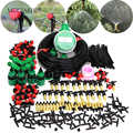 MUCIAKIE 10 M-50 M Automatische Garten Bewässerung Drip Beschlagen Kits Einstellbare Düse Spray mit Wasser Timer Control für teil Kits
