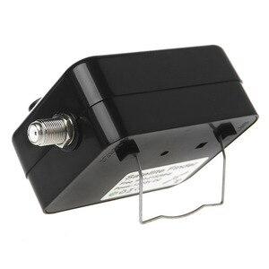 Image 4 - SF9504 Mini Sensitive Meter Buzzer wyświetlacz LCD wyszukiwanie odbiornik telewizji cyfrowej DC 13 18V przenośny lokalizator sygnału satelitarnego Tester