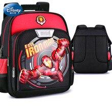 3D Cartoon Iron Man Schoolbag Captain America Boy Girl Children Kindergarten Backpack 5-14 Years Old Student Backpacks